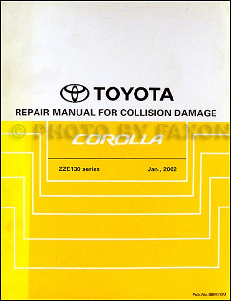 auto repair manual online 2008 toyota corolla security system 2002 toyota corolla owners manual release date price and specs