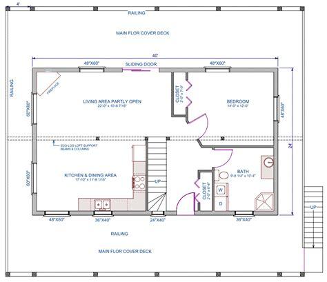 24 X 38 House Plans 24 X 40 House Floor Plans With Loft Joy Studio Design