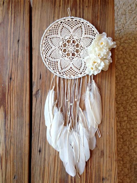 Handmade Catcher - custom handmade boho dreamcatcher vintage tags for