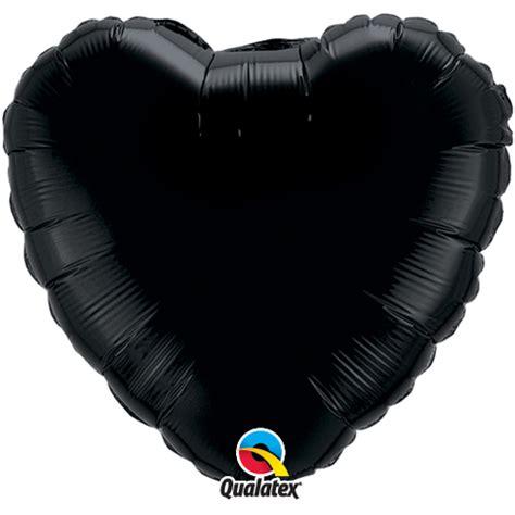 Balon Foil Besar Uk 45cm qualatex 18 inch onyx black foil balloon balloon