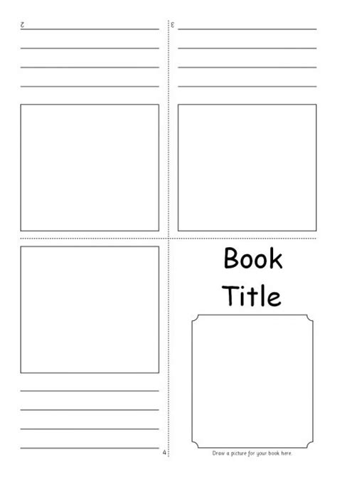 templates for small booklets editable fold over mini book templates sb7366 sparklebox