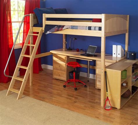 Bunk Bed W Desk Underneath by 24 Loft Beds With Desk Underneath Maxtrix