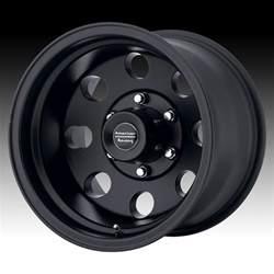 Baja Truck Wheels American Racing Ar172b Baja Satin Black Custom Wheels Rims