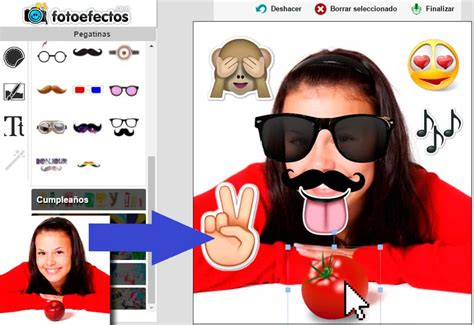 decorar tus fotos online pegatinas para poner en tus fotos online fotoefectos