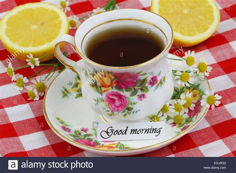 Morning Tea Cup Image