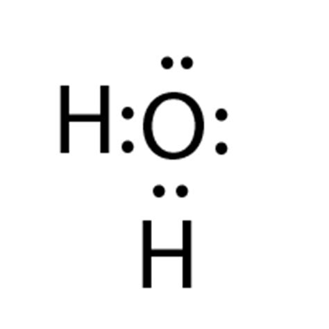dot diagram for h2o yes they also took