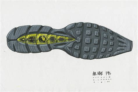 history of running shoes nike air max 95 sneaker the story the