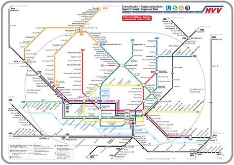 printable map hamburg subway map hamburg germany subway maps pinterest