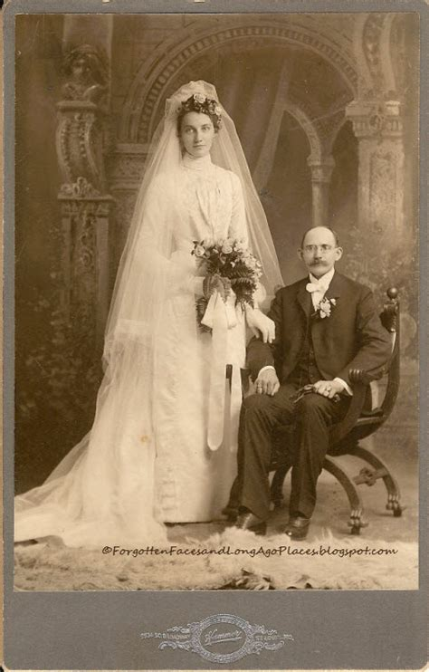 Forgotten Faces And Long Ago Places Wedding Wednesday