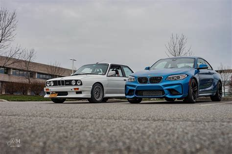 e30 m3 bmw m2 vs e30 m3 photoshoot