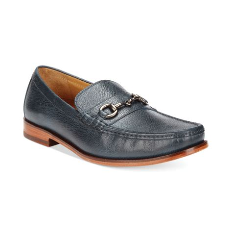 cole haan blue loafers cole haan hudson bit loafers in blue for blue