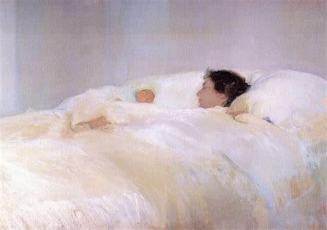 laying in bed in spanish joaqu 237 n sorolla part 3 my daily art display