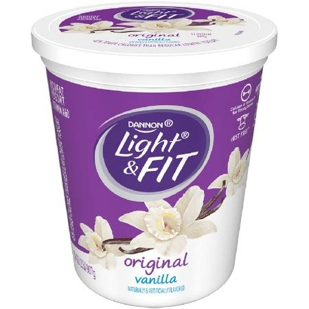 dannon light and fit yogurt drink dannon light and fit vanilla yogurt 32 oz target