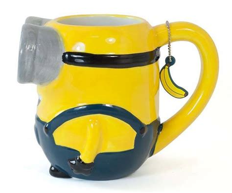Mug Custom Minions 3 the 3d minion coffee mug likes your coffee instead of