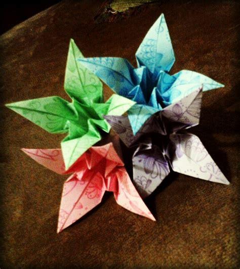 Origami Craft Work - iris origami my craft work