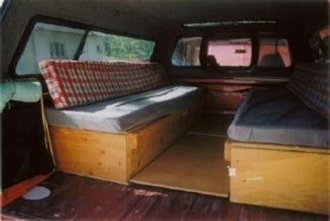 truck bed sleeping platform cer van collapsible bed instructablescom party invitations ideas