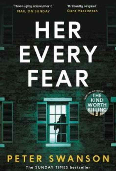 libro her every fear her every fear by peter swanson cy cy says