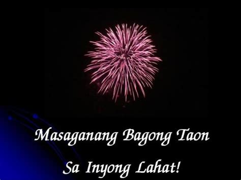 happy new year tagalog new year celebration in the philippines
