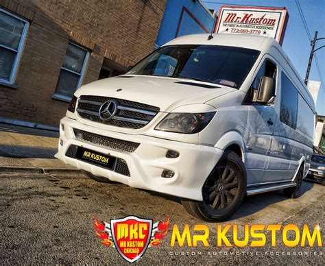 Mercedes Sprinter Kit by Mercedes Sprinter Custom Kit Mr Kustom Auto