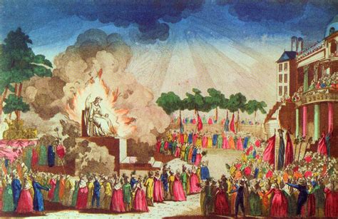 supreme being print of the festival of the supreme being june 1794