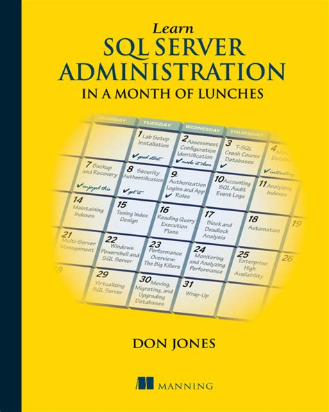 Microsoft Windows Server Administration Essentials 1st Edition cover learn sql server administration in a month of lunches book