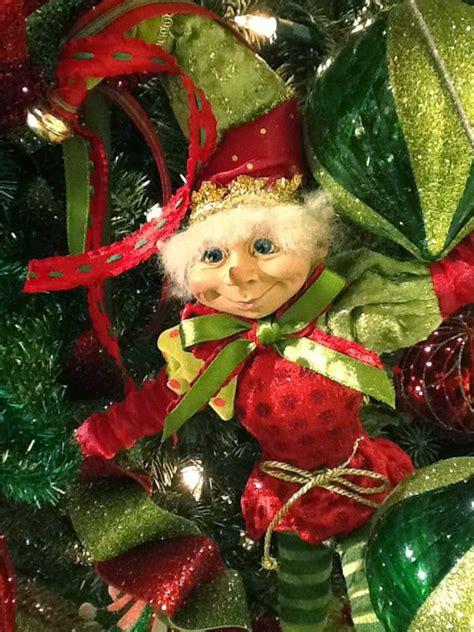 elves decorations raz 20 quot merry mistletoe elves back in stock trendy tree