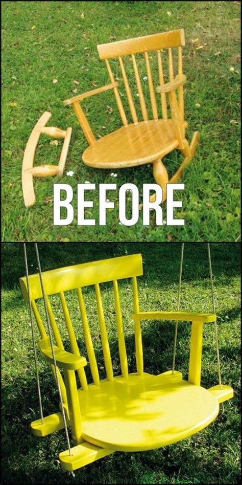 how to build a swing chair best 25 old chairs ideas on pinterest vintage shelf