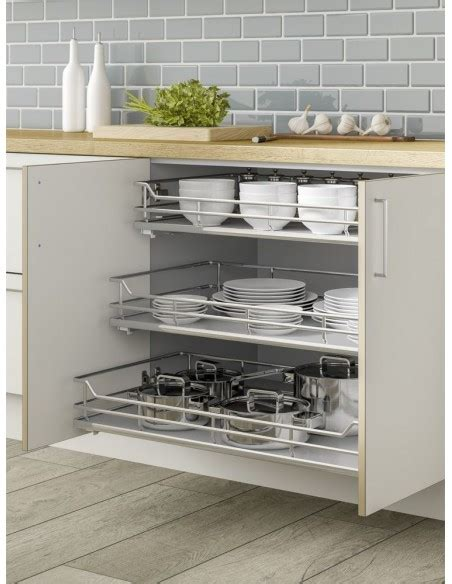 Individual Pull Out Shelving Basket Drawers Perfect For