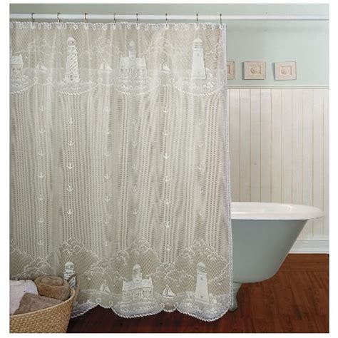 white lace shower curtain heritage lace lighthouse 72 inch by 72 inch shower curtain