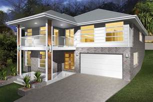 Lifestyle Network Home Design by Sandhurst Split Level Sloping Block Illawarra And