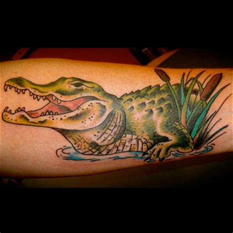 alligator tattoo meanings itattoodesigns com
