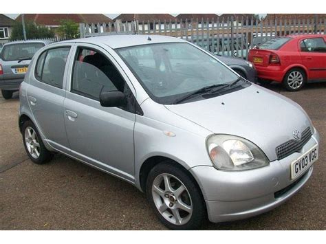 Used Yaris Toyota Used Toyota Yaris 2003 Petrol 1 0 Vvti Colour Collection
