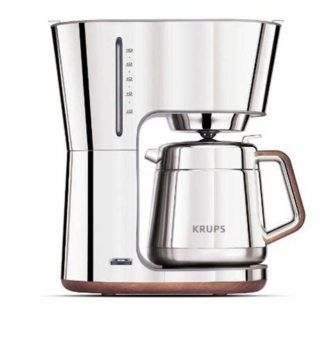 KRUPS KT600 Silver Art Collection Thermal Carafe Coffee Maker Review   Coffee Drinker