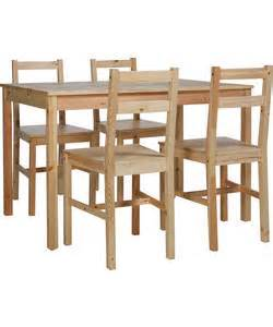 Dining Table And Chairs Argos Sale Buy Raye Wooden Dining Table And 4 Chairs At Argos