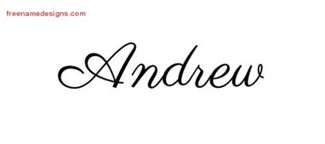 design free name andrew archives free name designs