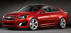 could the next generation chevrolet malibu ss look like