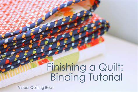For Binding A Quilt by How To Finish And Bind A Quilt Diary Of A Quilter A