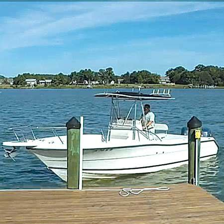 what is recommended when docking your boat how to videos for small boats trailering boatus magazine
