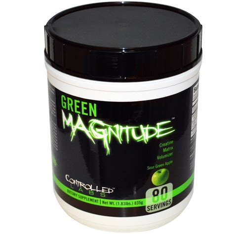 creatine empty stomach controlled labs green magnitude 835g 80 portions