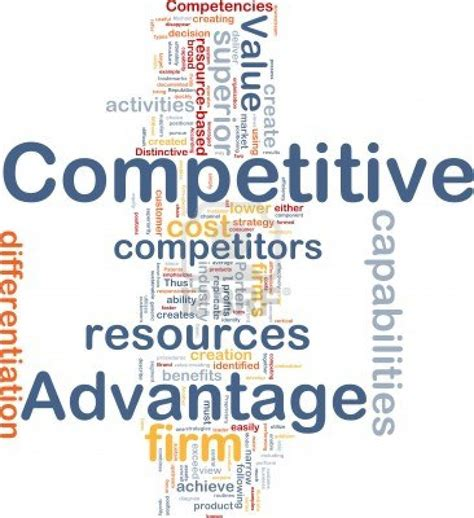 Competitive Advantage my future my chapter 2 identifying competitive