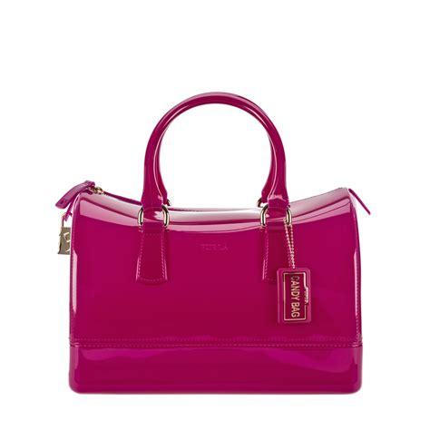 Furla Cardy furla satchel in purple violet lyst