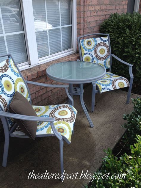 Outdoor Patio Furniture Paint Hometalk Redo Patio Sling Chairs For 25