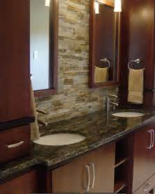 Bathroom Vanity Backsplash Ideas by A Variety Of Model 2014 Of Contemporary Bathroom Stone