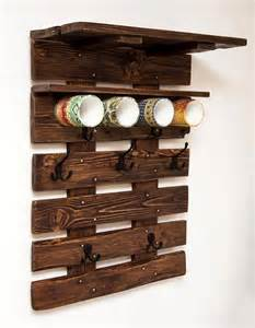 pallet coat rack wall organizer 99 pallets