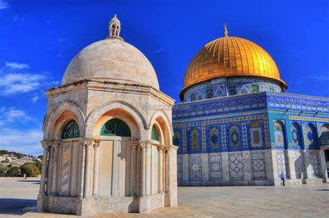 of the dome of the rock shrine jerusalem