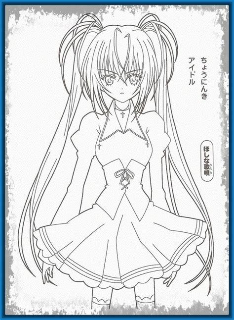 imagenes para dibujar anime imagenes de anime para dibujar archivos imagenes de anime