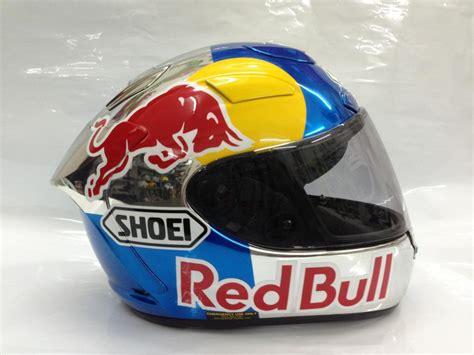 Helm Shoei Redbul Shoei Redbull Zaki Designs 011 Motomalaya