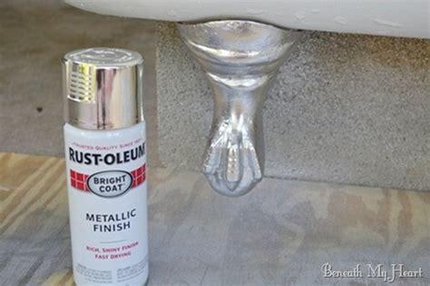 Bathtub Spray Paint by Refinishing Clawfoot Tub