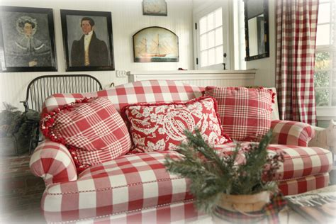 red and white checkered sofa home sweet home maria starzyk flickr