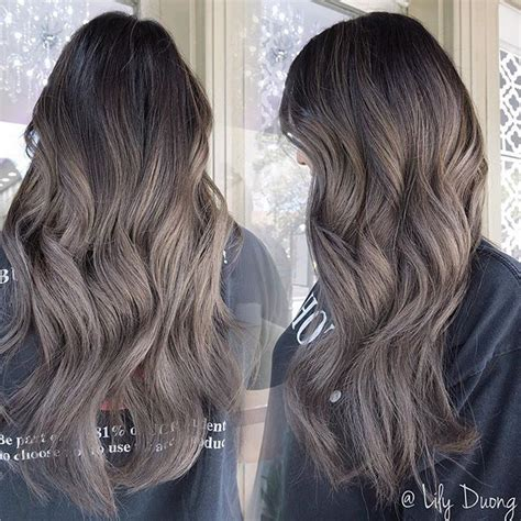 medium ash brown ombre hair color elle hairstyles best 10 silver ash ideas on pinterest dying hair grey